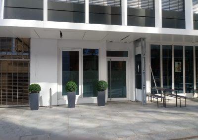 Njemačka, Hamburg (Brandsende) – Ugradnja čelične fasade, alu panela, prozorskih elemenata te stakljenje (Raico sistem).